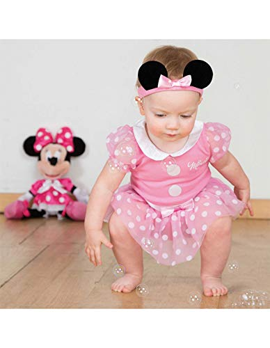 Amscan International Limited Disfraz De Minnie Mouse Rosa para Beb (3-6)
