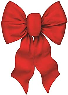 red velvet bow for wreath