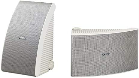 Yamaha NS AW392WH 120 Watt 5 5 Inch Cone All Weather Speakers 1 Pair White product image