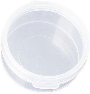 Rongzou Boîtes de Rangement Rondes Transparentes