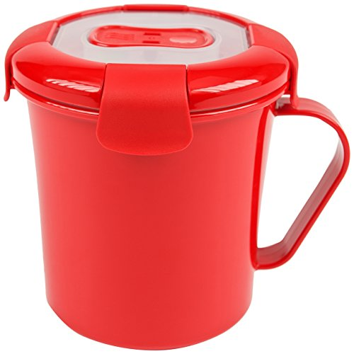 good 2 warmte-soepbeker, rood, 683 ML