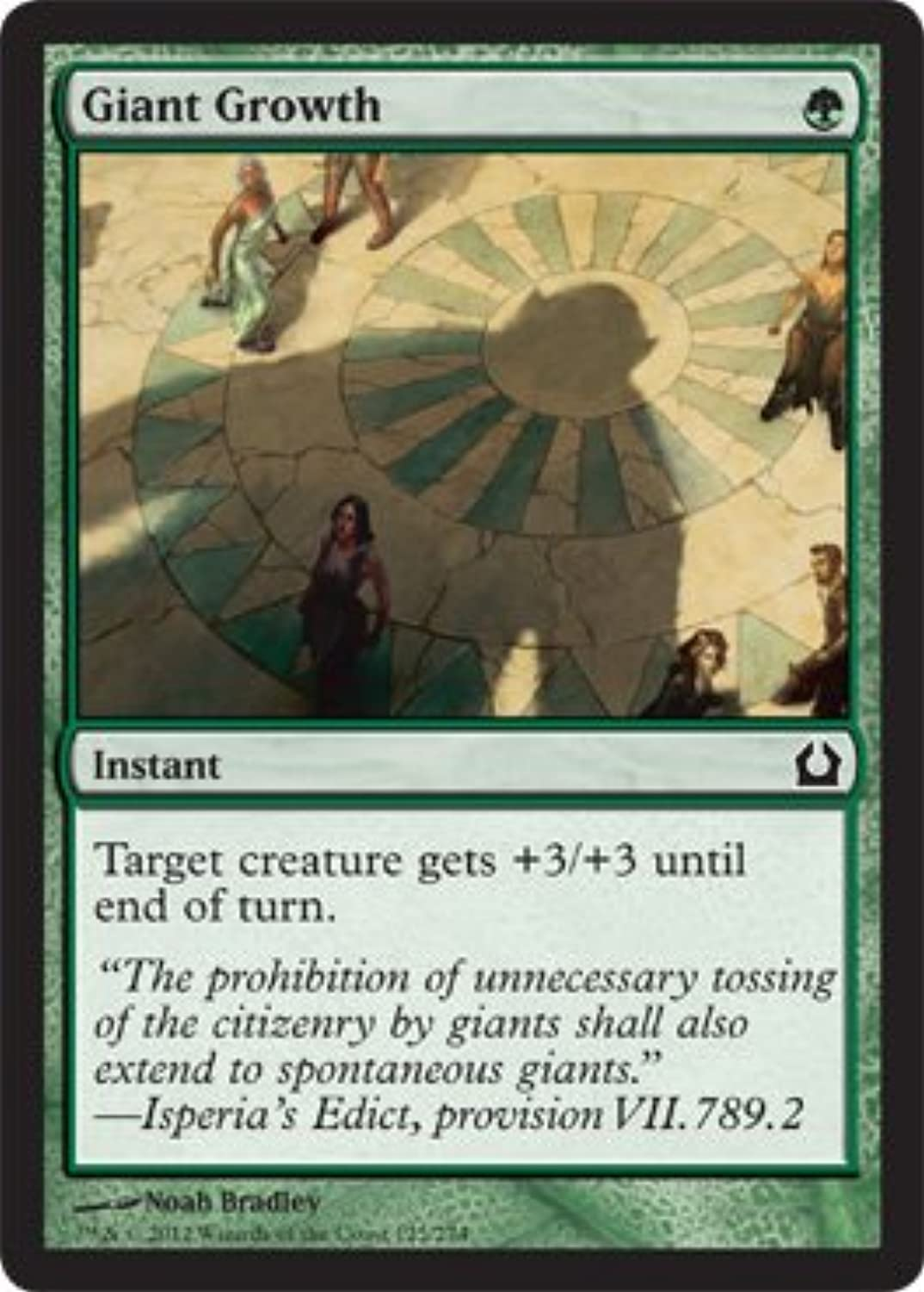 Magic  the Gathering  Giant Giant Giant Growth (125)  Return to Ravnica 2d942e