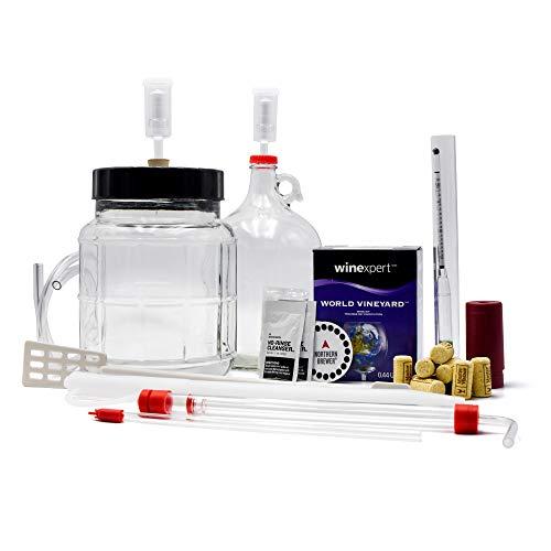 Master Vintner 1 Gallon Wine Making Equipment Starter Kit With Recipe (Cabernet Sauvignon)