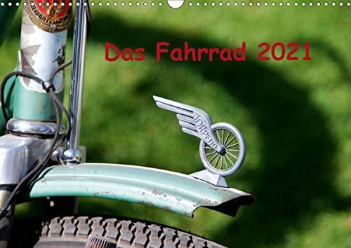 Das Fahrrad 2021 (Wandkalender 2021 DIN A3 quer)
