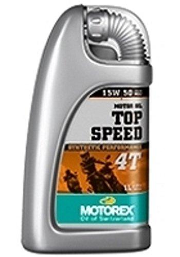 Motorex 417010 - Motorex Top Speed Synthetic Performance 4T SAE 15W/50 1,0 L. - 100 ml