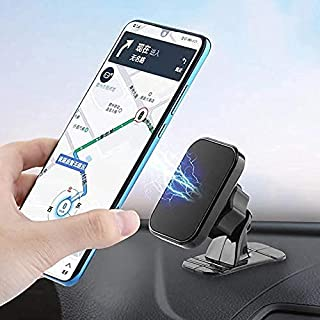 KUNOOZ Magnetic Car Phone Holder – Car Accessories for Dashboard Mount – Flexible Dashboard Phone Holder Compatible with a...