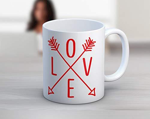 Liefde pijlen Aztec 11 oz Koffie Mok Theekop Keramische Mok Grappige Mok Koffie Beker Koffie Mok