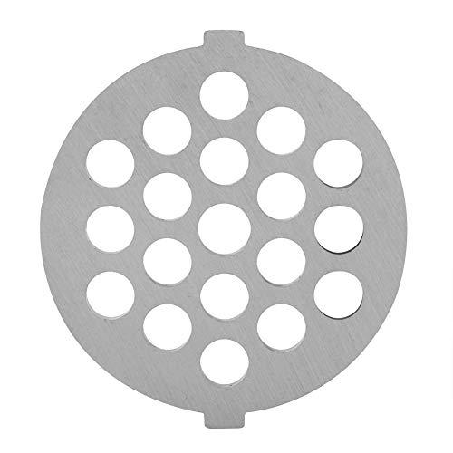 Garosa Cuchillo Picador de Carne Disco de Acero Inoxidable Cuchillo Picador de Carne Cuchillo con Orificios de 5/7 Mm Pieza de Recambio Profesional para Picadoras(7 mm)