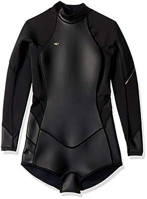 O'Neill Women's Bahia 2/1mm Back Zip Long Sleeve Short Spring Wetsuit