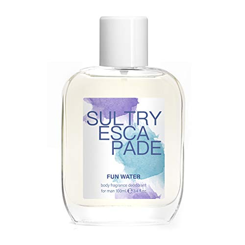 Fun Water Sultry Escapade - Desodorante para hombre (100 ml, pack de 2)