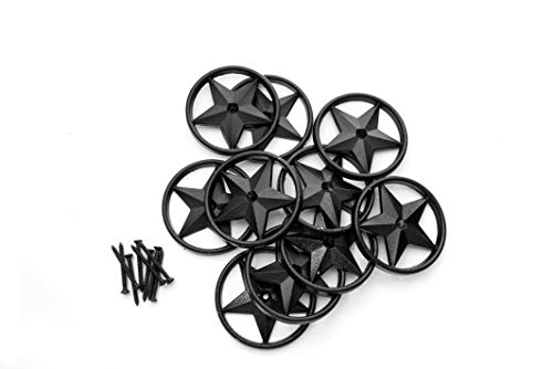 OZCO 56624 3-3/8-inch Decorative Metal Star (10 per Pack)