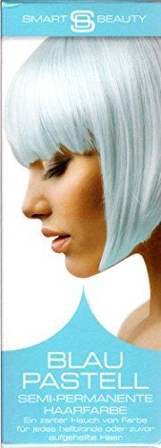 Smart Beauty BLAU-PASTELL Semi-permanete Haarfarbe - ein zarter Hauch von farbe - 50 ml