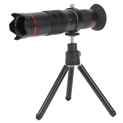 Mxzzand Telescopio telefónico, el telescopio Tiene un telescopio de Enfoque Largo con Zoom de 22x Ampliamente aplicable para reporteros para Disparos a Larga Distancia