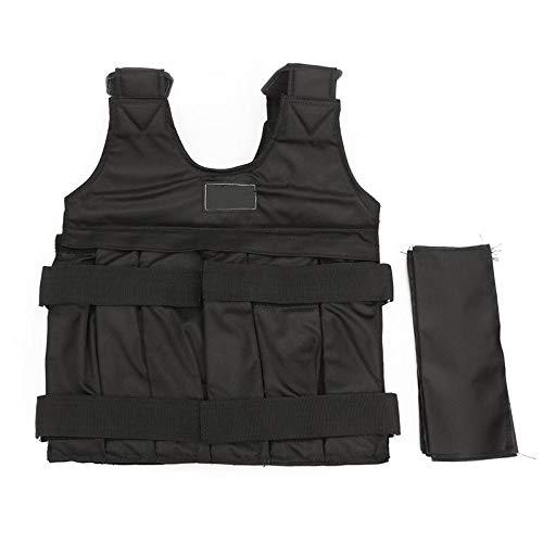 SISHUINIANHUA £ / 50 KG Gewichtsweste Für Boxtraining Ausrüstung Einstellbare Übung Schwarze Jacke Swat Sanda Sparring Schützen
