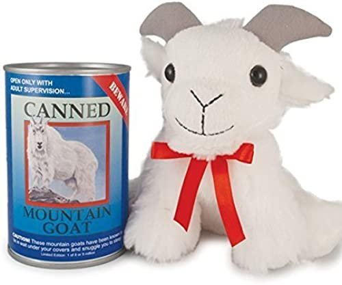 encuentra tu favorito aquí Canned Critters Stuffed Animal    Mountain Goat 6 by Unknown  salida