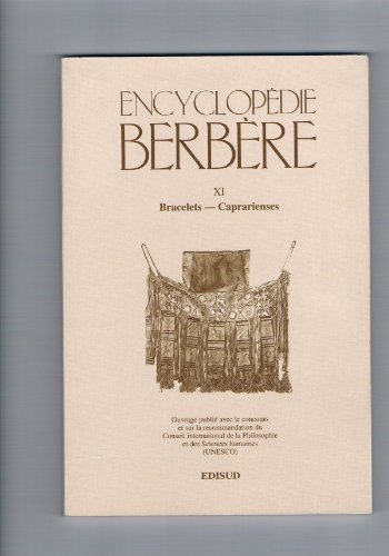 Encyclopédie berbère, tome XI