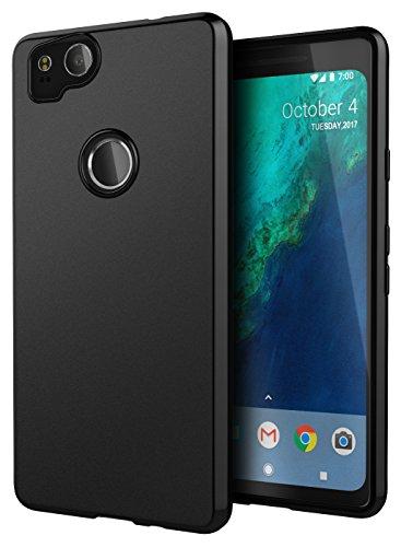 Google Pixel 2 Case, Cimo [Matte] Premium Slim Protective Cover for Google Pixel 2 - Black