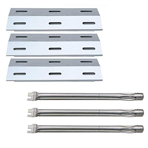 Hongso Ducane Gas Barbecue Grill 30400040 Replacement KIT Burners & Heat Plates (SBC041-SPI341)