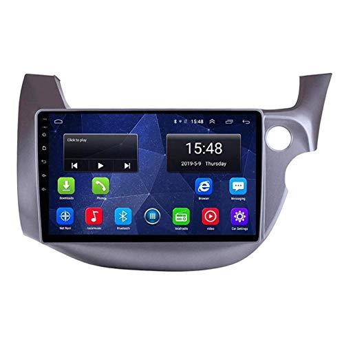 WY-CAR Unidad Principal De Navegación GPS con Android 8.1 De 10.1 Pulgadas para Honda Fit Jazz 2008-2013, Bluetooth/FM/RDS/Controles del Volante/Mirror Link/Cámara De Visión Trasera