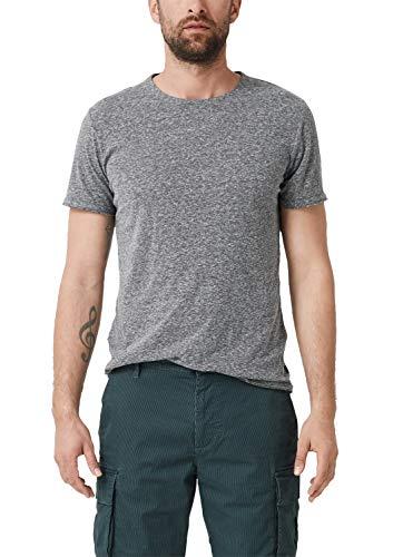 s.Oliver 28.905.32.4874 T-Shirt, Grigio (Grey/Black 98g0), Small Uomo
