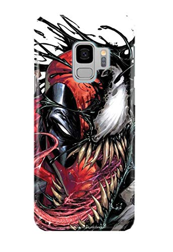 Case Me Up Coque téléphone pour Samsung Galaxy S9 Venom Spider Man Eddie Brock Mac Gargan Marvel Comics 20 Dessins