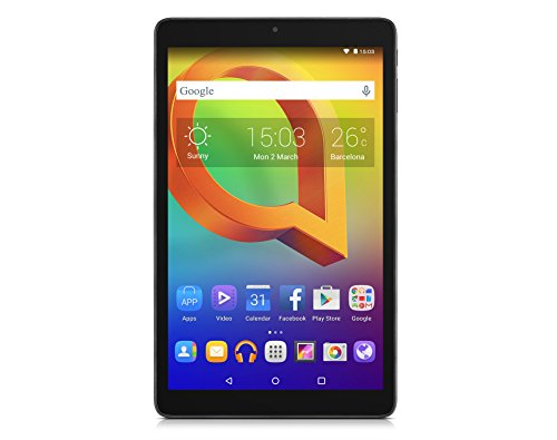 Alcatel 8079-2CALWE1 A3 (10) Tablet-PC (AMD A4 Cortex-A7, 64GB Festplatte, 1GB RAM, Android 5.0) Schwarz