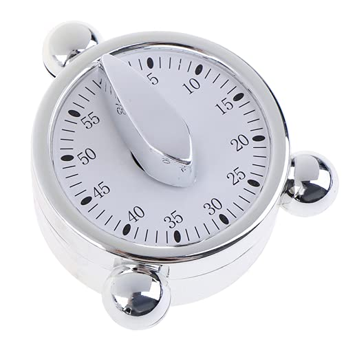 Yhjkvl Temporizador de cocina de cocina 1 unids 60 minutos recordatorios de cocina mecánica reloj despertador para cocina cuenta atrás temporizador Horno Horno Huevera