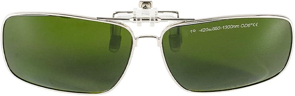 Cloudray CE 1064nm gafas de seguridad láser gafas de protección protección protección gafas para YAG DPSS Fiber Laser..