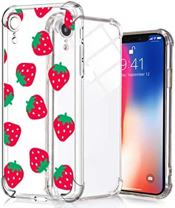 Idocolors Cute Case for iPhone 6 iPhone 6s Clear Soft Flexible TPU Bumper Ultra Slim Shockproof product image