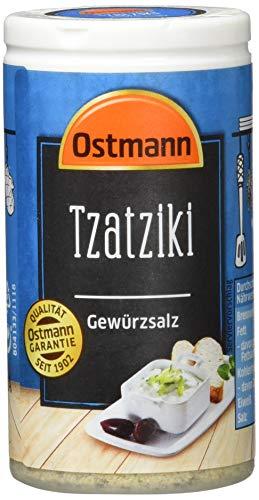 Ostmann Gewürze Tzatziki Gewürzsalz, 4er Pack (4 x 60 g)