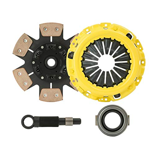 ClutchXperts Stage 3 Racing Clutch KIT Compatible With 1982-1988 Toyota Supra Non-Turbo 5MGE 7MGE by CXP
