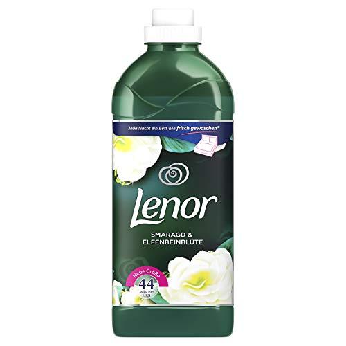 Lenor Weichspüler Smaragd & Elfenbeinblüte, 44 Waschladungen, 6er Pack(6 x 1320 ml)