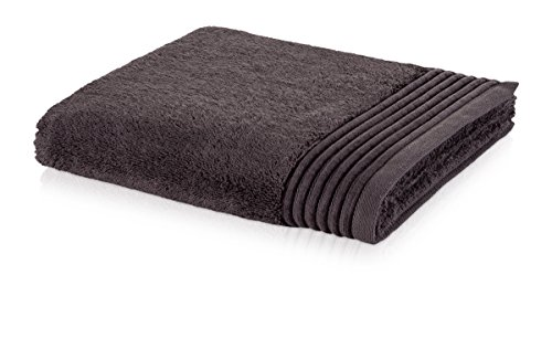 möve Loft Handtuch 50 x 100 cm aus 100% Baumwolle (Spinair), graphite