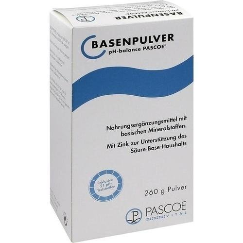 BASENPULVER Pascoe 260g 47415 by Pascoe Vital GmbH