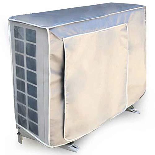 エアコン室外機カバー エアコンカバー 保護カバー室外機用 防水 防塵 日焼け止め 72*26*57cm