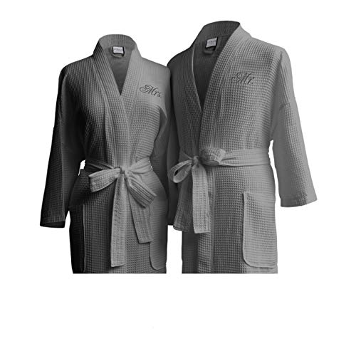 Luxor Linens His & Hers Spa Bathrobe