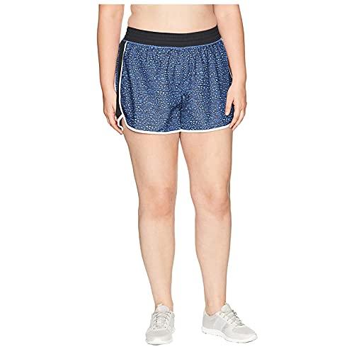 Fischschuppen Shorts Damen Mode Kurz Hosen Glänzend Schlafanzughose Kurz Schlafhose Kurze Baumwolle Pyjamahose, Streifen Sportshort Kurze Sporthose Stoffhose Yoga Running Gym Beiläufige Elastische