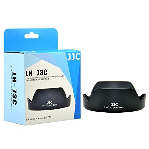 JJC LH-73C zonnekap voor Canon EF-S 10-18 mm f/4,5-5,6 IS STM - vergelijkbaar met Canon EW-73C