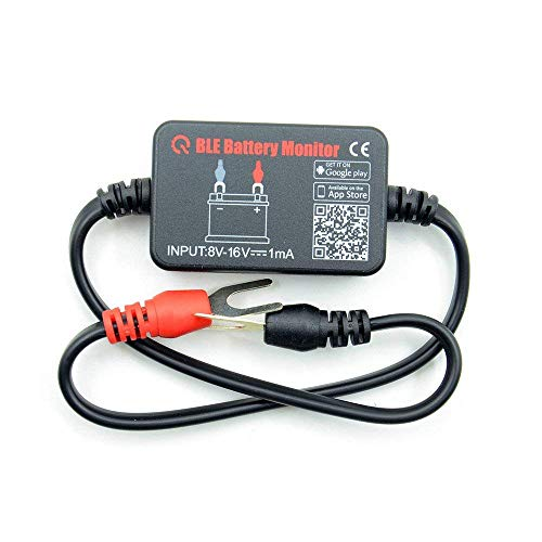 Bluetooth Battery Monitor Auto Car Motor 12V Battery Voltage Tester Wireless Free Mobile APP Real Time