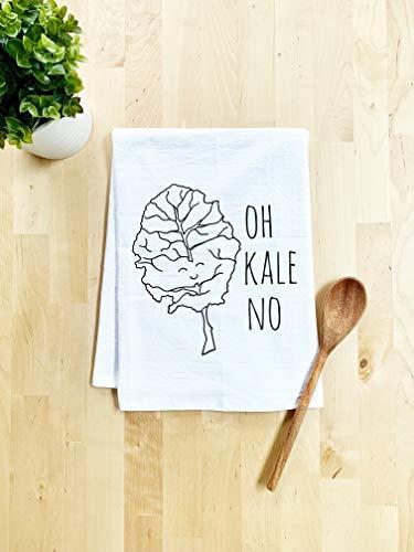 5. Oh Kale No! Flour Sack Kitchen Towel