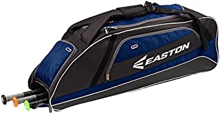 Easton E500T Bat & Equipment Tote Bag | Baseball Softball | 2020 | 3 Bat Compartment | Vented Pockets | Side Pocket | Interior Valuables Pocket | Water Bottle Pocket | Backpack Straps | Fence Hook