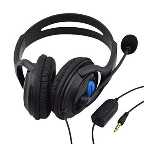 Topsale-ycld Gaming Headset PS4 Headset met 7.1 Surround Sound, Xbox One Headset w/Noise Canceling Microfoon & LED Light, Compatibel met PS4, Xbox One, Switch, PC, PS3, Mac, Laptop, Over Ear Headp