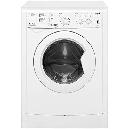 Indesit IWDC6125 Ecotime IWDC 6125 Washer Dryer, White