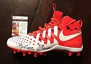 Bradley Roby Autographed Signed Nike Inscribed sb Champs Football Cleat JSA/Coa T89381
