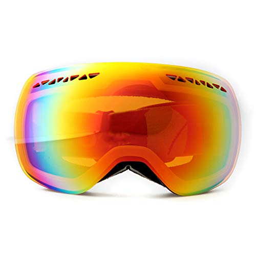 AZBYC Ski Goggles, Skibril, Dubbele Lens Anti-Fog Skating Goggles, Voor Vrouwen En Heren (beste cadeau)