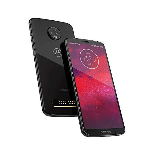 Motorola Moto Z3 Motxt192917 gsm/CDMA LTE Libre Droid Edición 5G Capaz Negro de cerámica