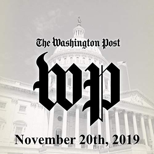 『November 20, 2019』のカバーアート