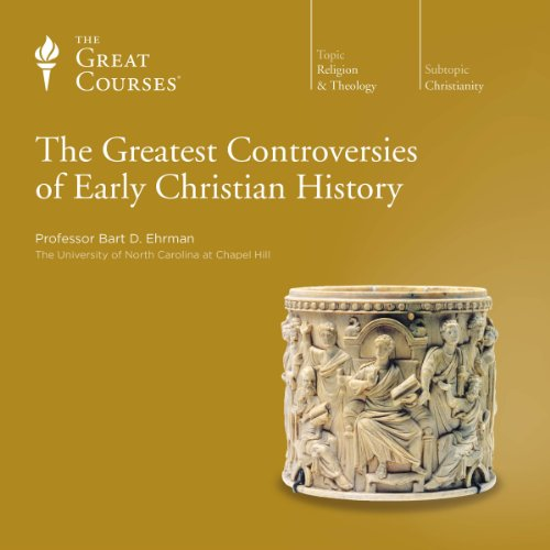 The Greatest Controversies of Early Christian History                   By:                                                                                                                                 Bart D. Ehrman,                                                                                        The Great Courses                               Narrated by:                                                                                                                                 Bart D. Ehrman                      Length: 11 hrs and 46 mins     38 ratings     Overall 4.6