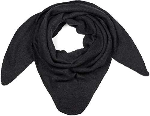 gebreide driehoek sjaal kruidvat