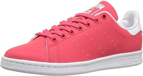 adidas Originals Women's Stan Smith Sneaker, Core Pink/Core Pink/White, 5